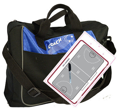 Box lacrosse - Coach bag and deluxe clipboard kit