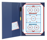 Hockey - Magnetic and dry erase two-way folder