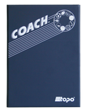 Field hockey - Magnetic and dry erase two-way folder