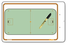 floor Hockey - Deluxe clipboard