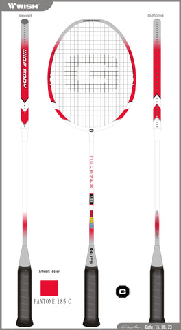 Guts Badminton Rackets B-780 Pack of 2