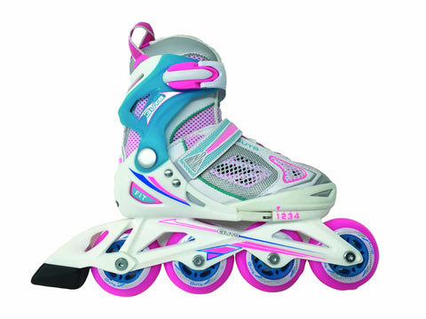 Guts BD062-WHPK adjustable Girl inline skate ( Spring 2018 )