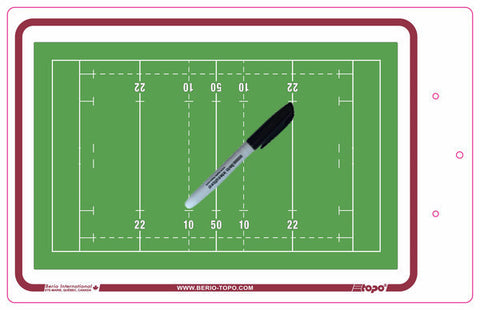 Rugby - Deluxe clipboard