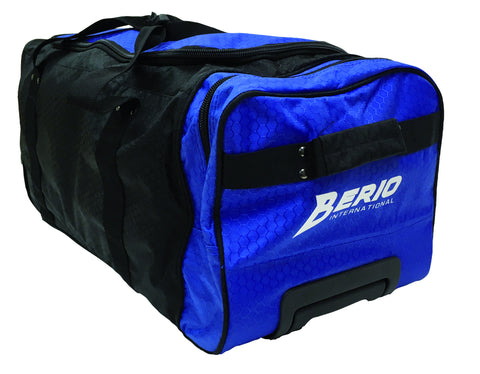 Berio Junior Wheel Bag Black/Blue