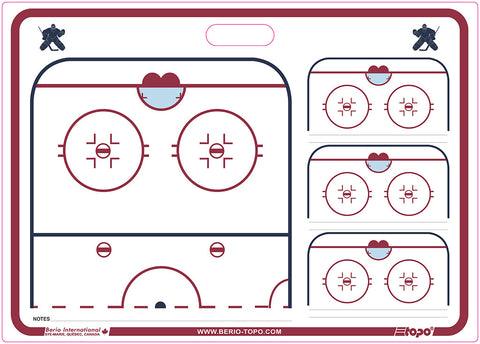 Hockey - Goalie coach rigid board - 20