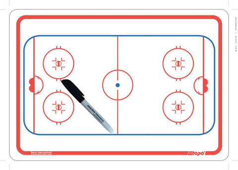 Roller hockey - Deluxe clipboard