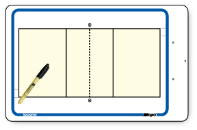 Volleyball - Deluxe clipboard