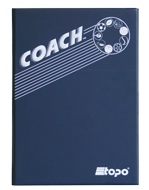 Volleyball - Magnetic and dry erase two-way folder