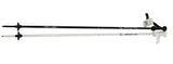 Van Bergen Junior alpine ski poles Black