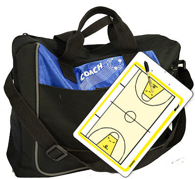 international Basketball - Coach bag and deluxe clipboard kit