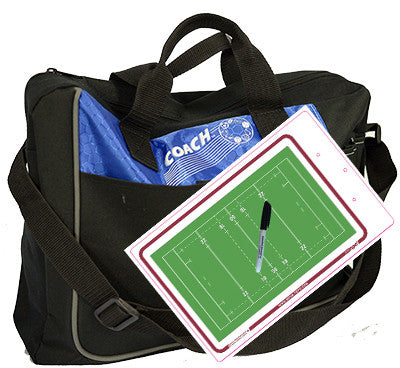 Rugby - Coach bag and deluxe clipboard kit