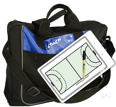 Handball - Coach bag and deluxe clipboard kit