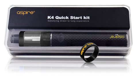Aspire K4 Quick Start Kit - Cleito Tank and 2000mAh Battery