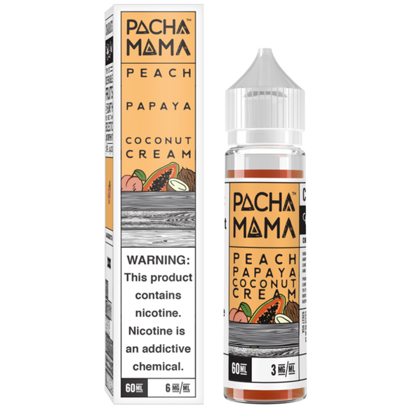 Pachamama - Peach Papaya Coconut Cream