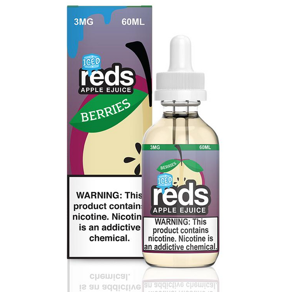 Reds Apple Ejuice - Reds Berries Ice