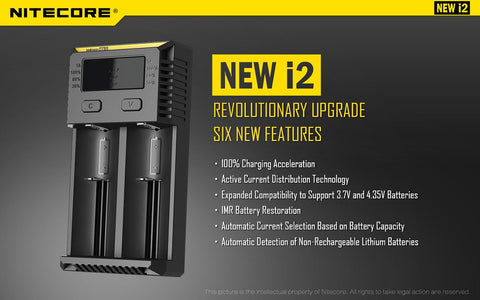 Nitecore Intellichargers (New i2)