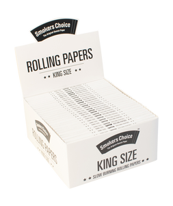 King Size Rolling Paper White Box hs