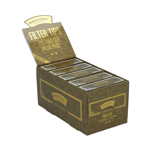 King Size Guld Value Pack Filter Tips Box