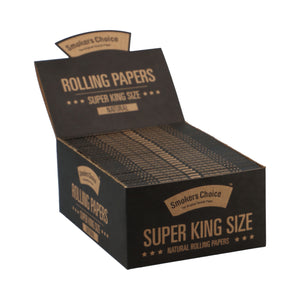 Super King Size Rolling Paper Brown Box