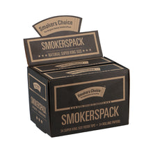 Load image into Gallery viewer, SmokersPack Super King Size Natural Box