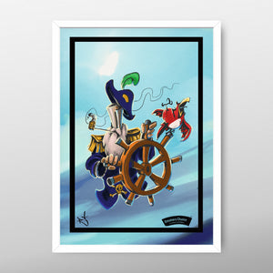 Pirate Poster By