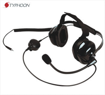 Typhoon 900 Series, HD Headset w/Boom Mic