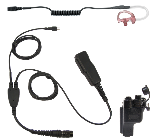 Motorola®HT1000 Series, Large Lapel Mic Kit (w/ Quick Disconnect)