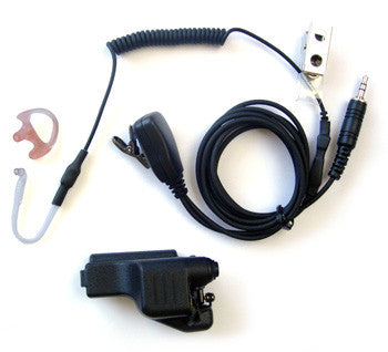 Motorola®HT1000 Series, Small Lapel Mic Kit (3.5mm threaded)