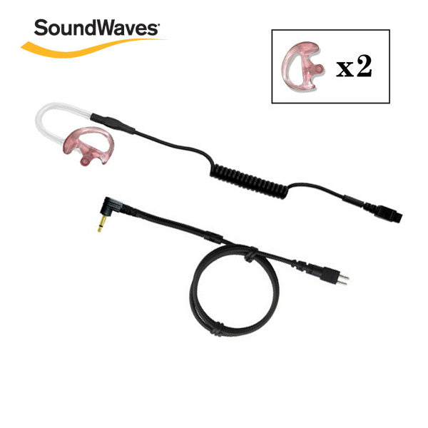 SoundWaves® Receive Only Kit (2.5mm Jack) w/ 2 Ear Tips