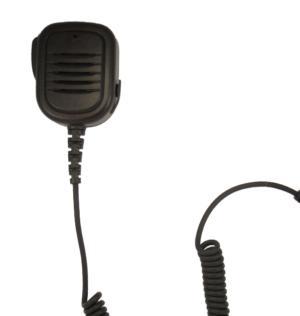 Typhoon 800 Series, Large Shoulder Mic., w/ 2.5MM & 3.5MM Connector (M)
