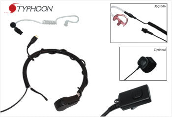 Typhoon 700 Series, Throat Mic