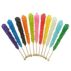 Bulk Rock Candy Crystal Sticks