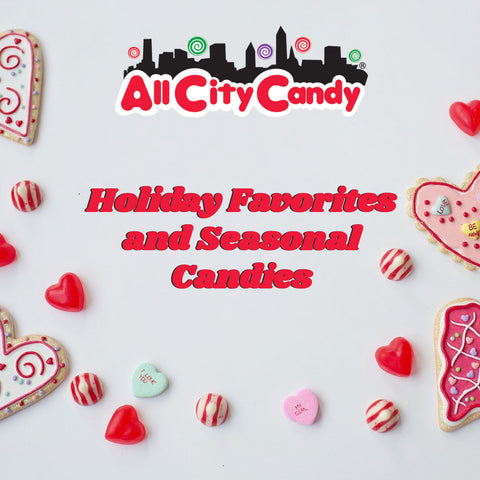 holiday favorites and seasonal sweet with All City Candy in Cleveland, Ohio