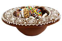 Handmade Gourmet Chocolate Bowl & Chocolate Dipped Treats by All City Candy