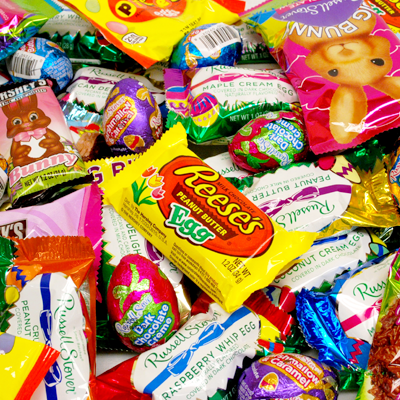 All City Candy has all your Easter candy favorites and best Sellers like Brach's jelly bird eggs, Cadbury eggs, Dove solid milk chocolate bunnies, Hershey's Easter chocolate, Palmer's, and lots of peeps. For fresh candy and great service, visit www.allcitycandy.com