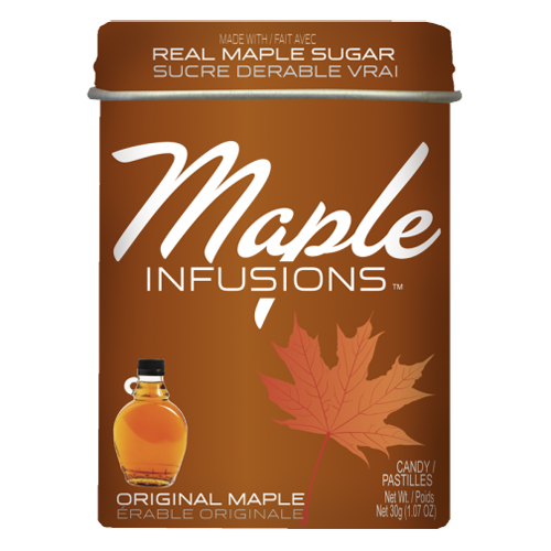 Maple Infusions Original Maple Candy - 1.07-oz. Tin melt in your mouth hard candy