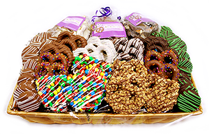 All City Candy Gourmet Chocolate-Dipped Treats Gift Basket