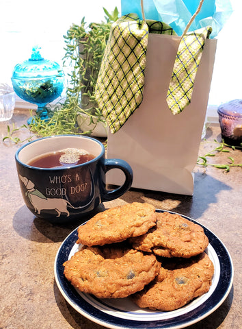 Cooking with Candy: Father's Day Chocolate Covered Blueberry Oatmeal Cookies by All City Candy