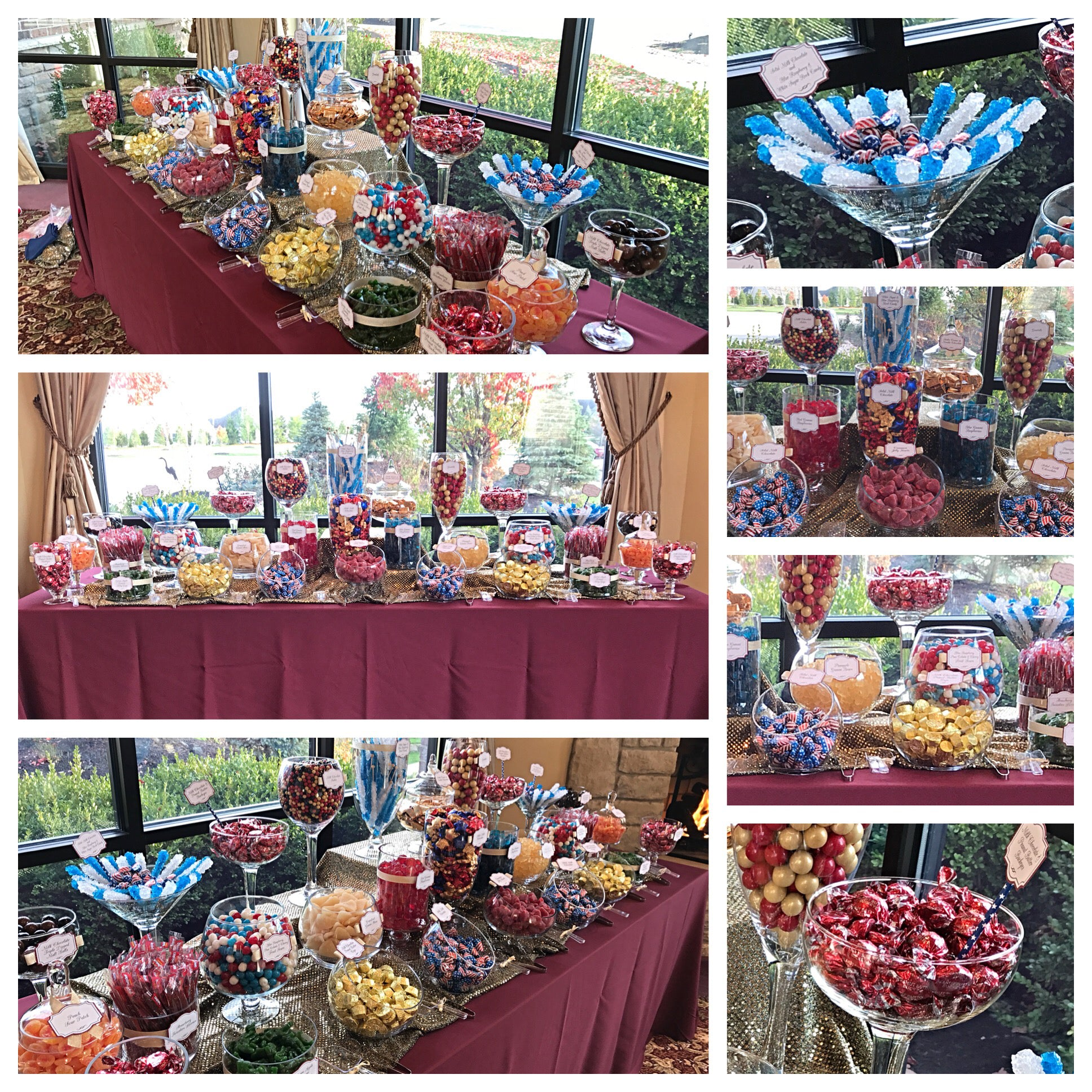 Candy Buffet Gallery Of Displays For Weddings, Parties
