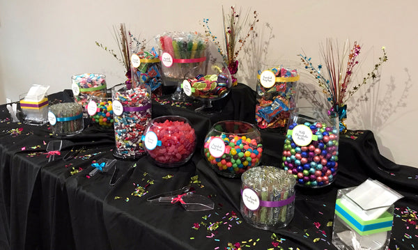Excellent Bright Colors Bat Mitzvah Candy Buffet All City Candy Download Free Architecture Designs Embacsunscenecom