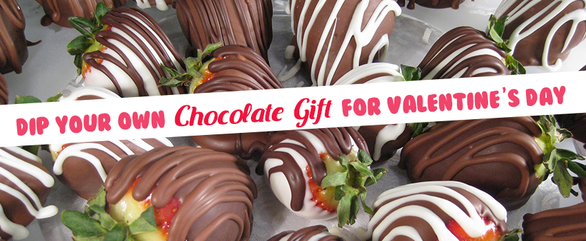 Dip Your Own Chocolate Gift for Valentine's Day at All City Candy