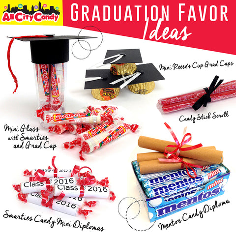 Graduation Party Favors with Candy