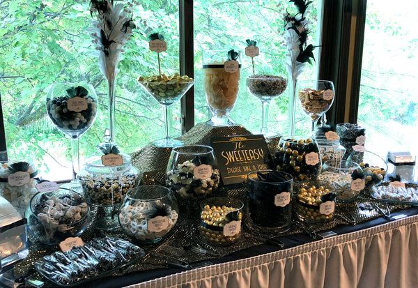 Super Great Gatsby Themed Wedding Candy Buffet All City Candy Download Free Architecture Designs Embacsunscenecom