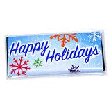 Happy Holidays Candy Bar Wrapper