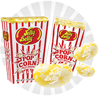 Jelly Belly Buttered Popcorn Jelly Beans at AllCityCandy.com