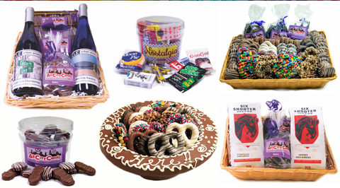 Give a Corporate Candy Gift Basket for the Holidays