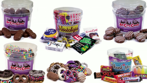 Candy Gift Buckets for any occasion