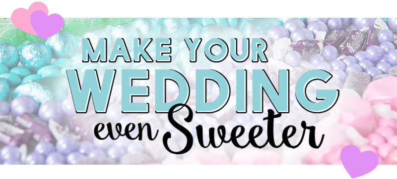 Make Your Wedding Day Sweeter With All City Candy Candy Buffets Custom Favors And Bulk Candy By Color
