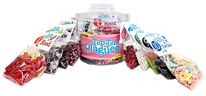 Passover Top Ten Plagues Bucket at All City Candy