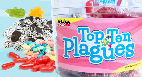 All City Candy Top Ten Plagues Bucket of Candy Giveaway Contest